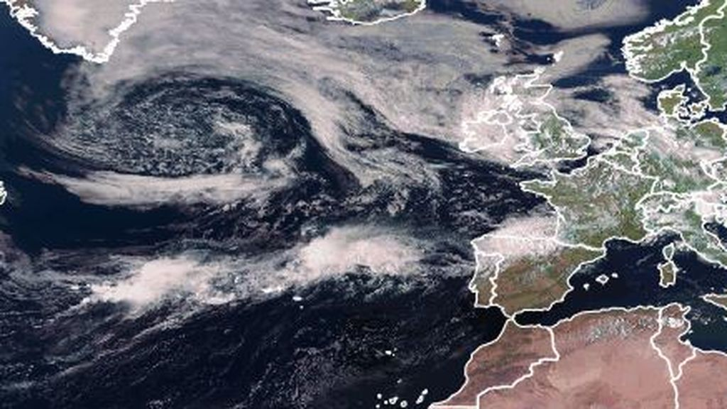 El ciclón extratropical Kyle, rumbo a Europa: sus efectos previstos en España