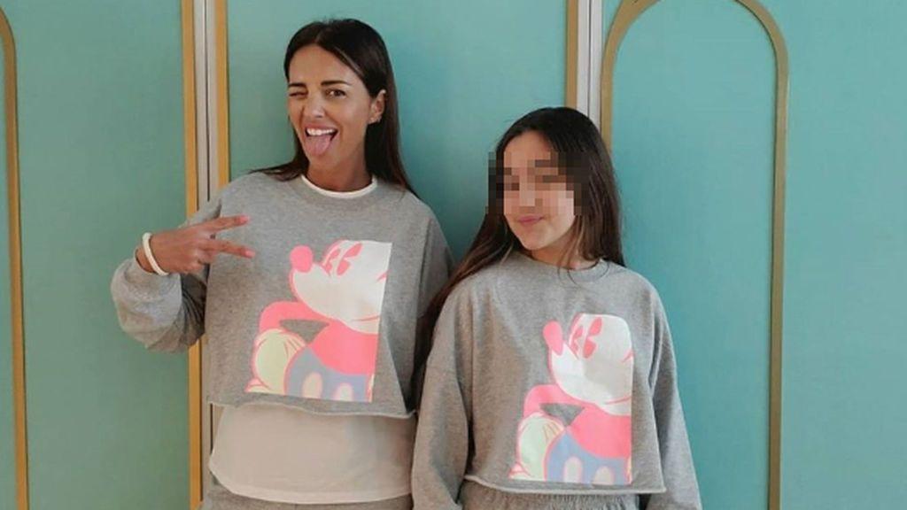 Paula Echevarría y su hija