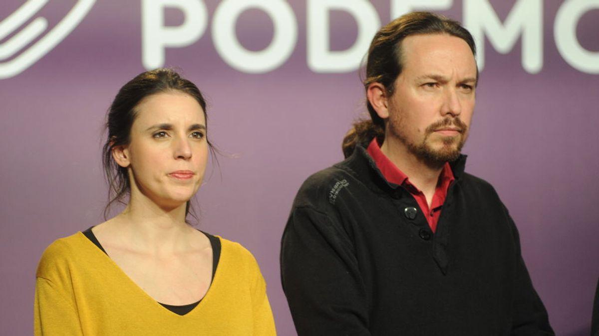 Numerosos políticos y ciudadanos se solidarizan con Pablo Iglesias e Irene Montero tras el acoso recibido en sus vacaciones en Asturias