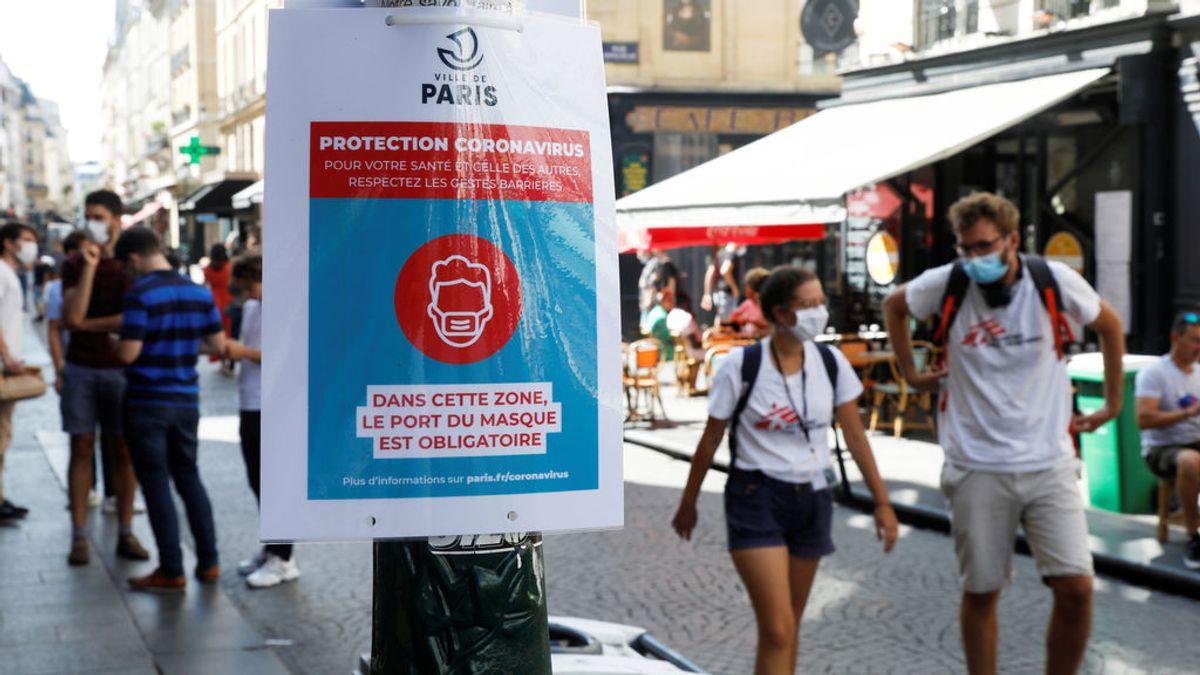 Francia hace obligatorio el uso de la mascarilla en los lugares de trabajo