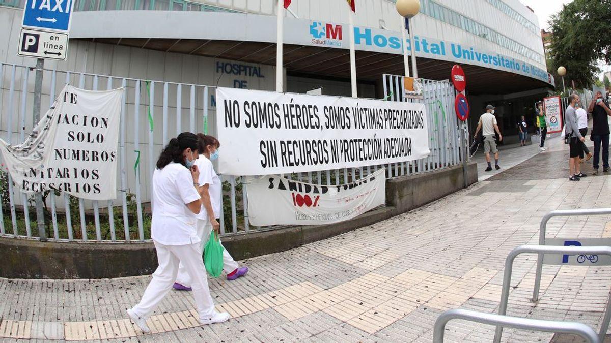 Crece la curva de ingresos por coronavirus en Madrid: algunos hospitales triplican enfermos en una semana