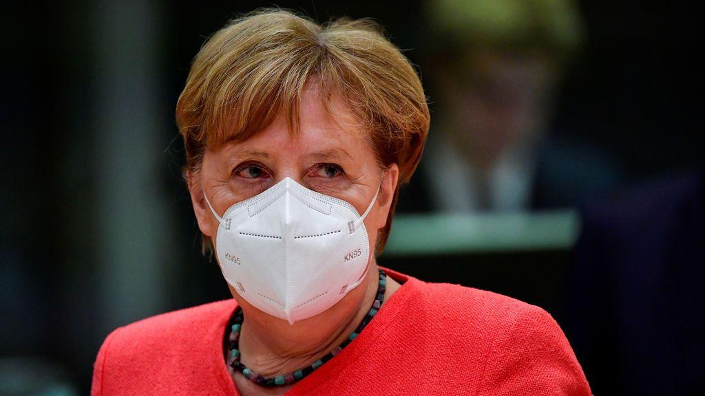 Angela Merkel se moviliza para gestionar la crisis en Bielorrusia