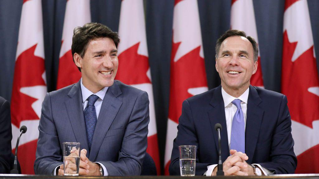 Dimite el Ministro de Finanzas de Trudeau por un escándalo de corrupción