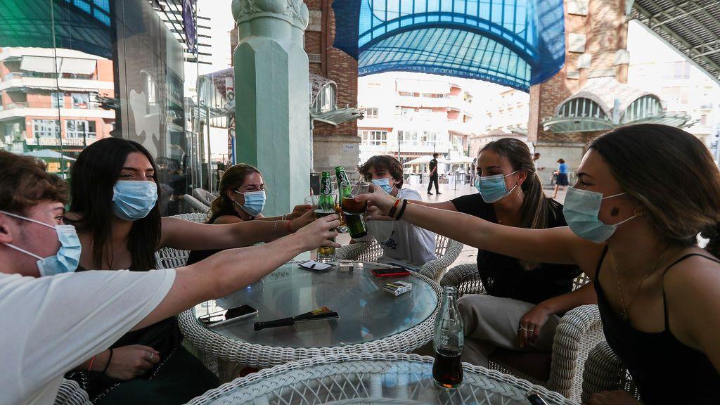 21 días sin ocio ni tabaco en Valencia