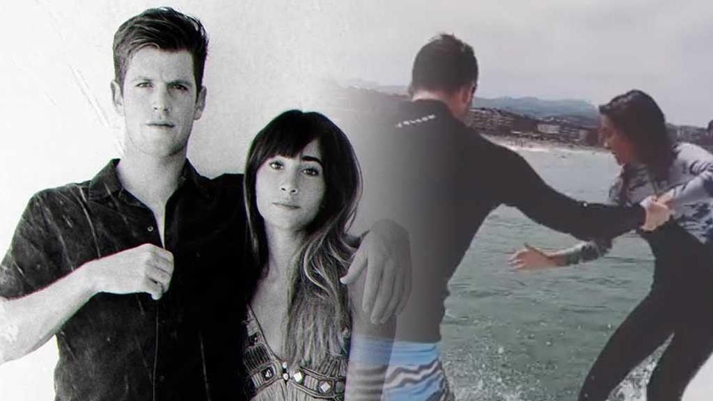 """Aitana y Miguel Bernardeau practican surf durante sus vacaciones: """"Uno de los mejores días de mi vida"""""""