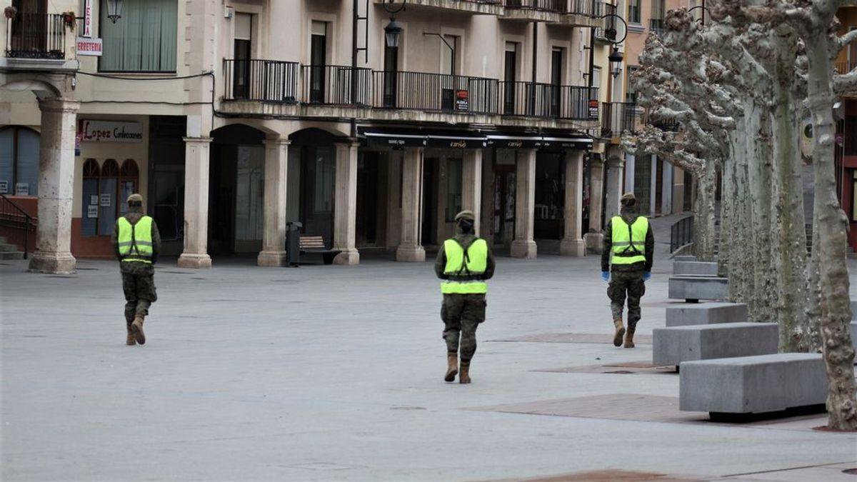 El juzgado de Burgos estima la petición de la Junta y prorroga el confinamiento de Aranda