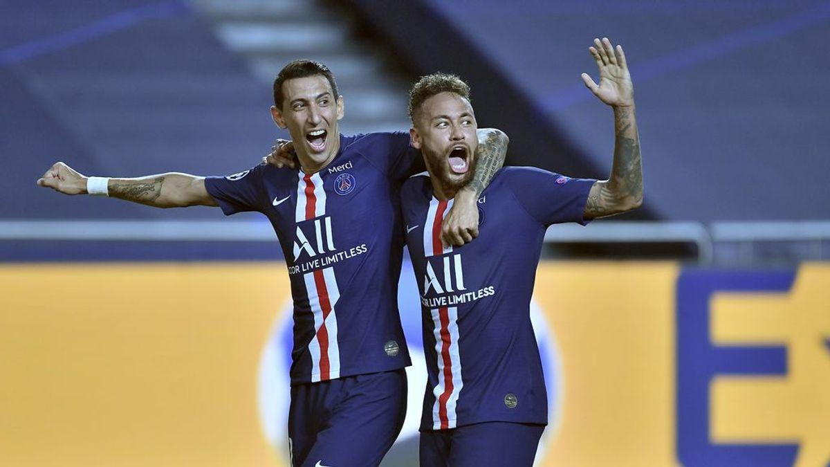 Di María y Neymar llevan al PSG a la final de la Champions Legue: los franceses tuvieron un partido cómodo ante el Leipzig obteniendo  contundente vicotoria