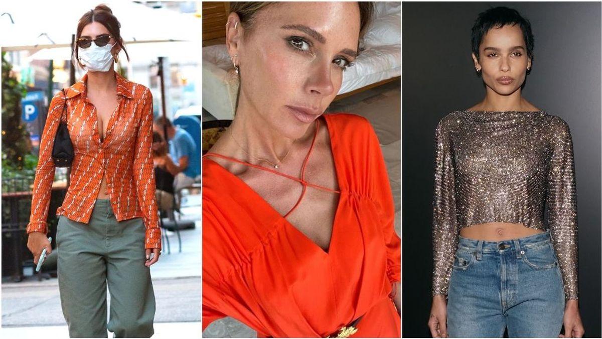 Victoria Beckham confirma que vuelven los pantalones de tiro bajo: la tendencia que las influencers españolas se niegan a llevar