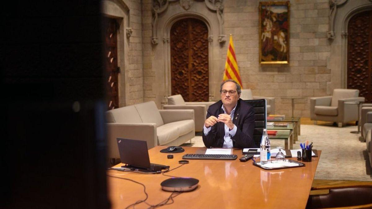 Quim Torra advierte de medidas drásticas ante el repunte de covid en Cataluña