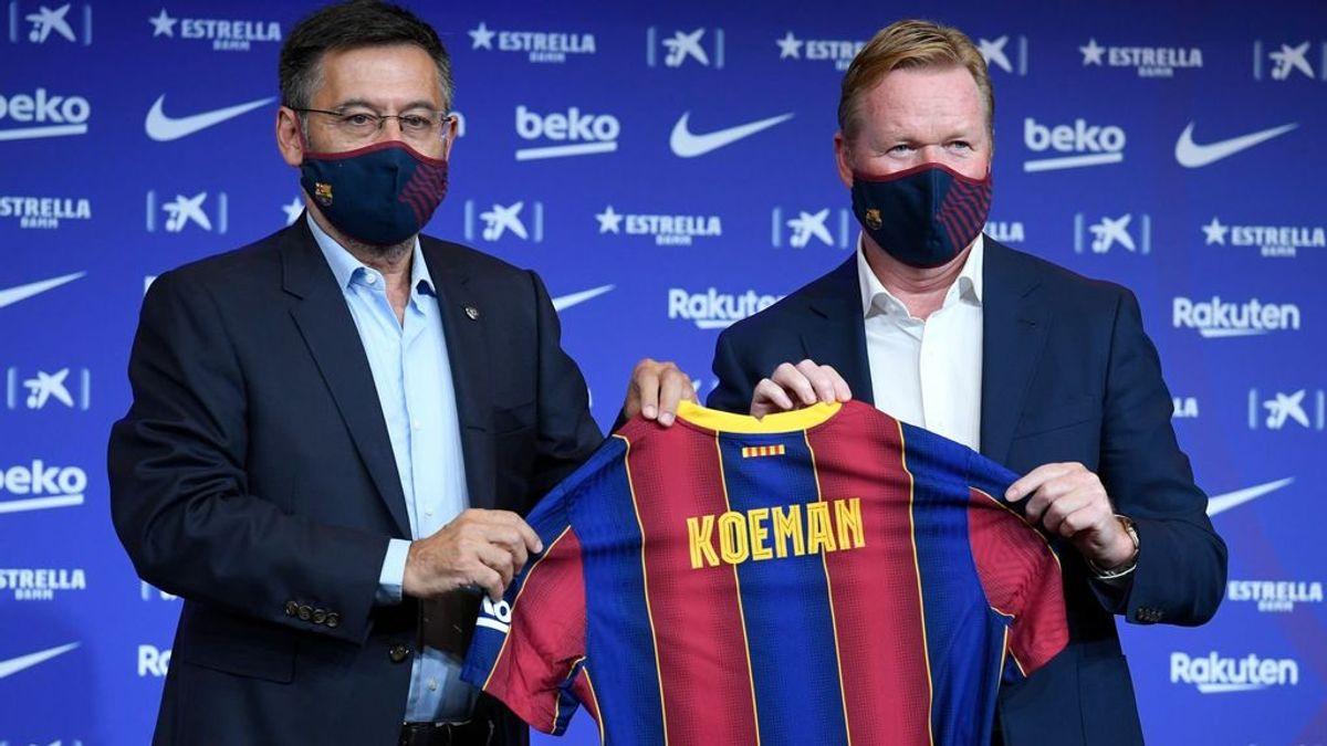 """Las primeras palabras de Koeman como entrenador del FC Barcelona: """"Hay que hacer cambios"""""""