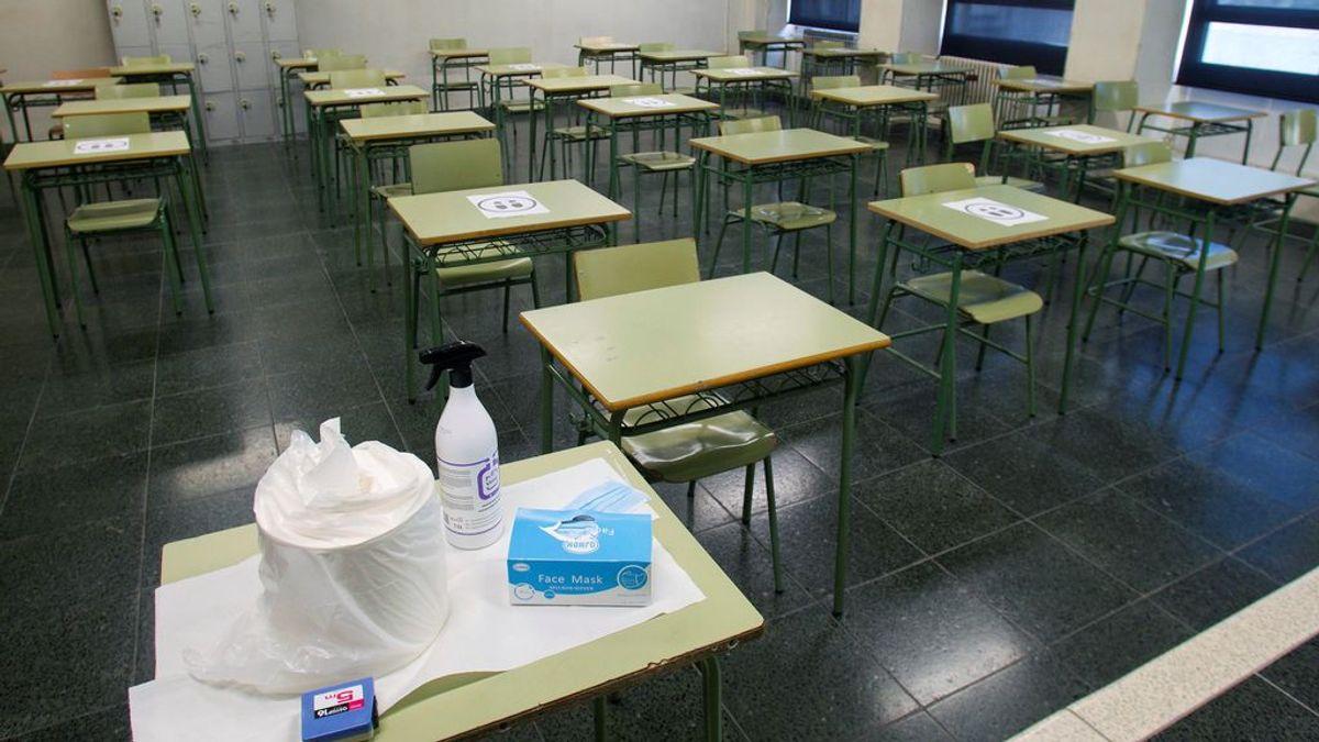 Los profesores irán a la huelga en Madrid para protestar por la falta de medidas anti-COVID