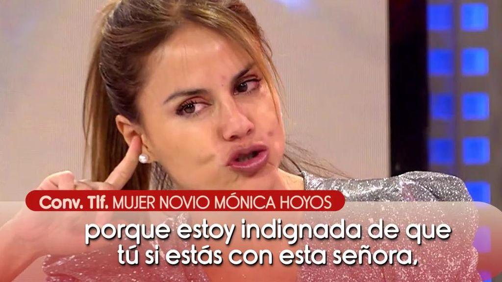 """Mónica Hoyos podría estar con un hombre casado: """"Estamos casados"""""""