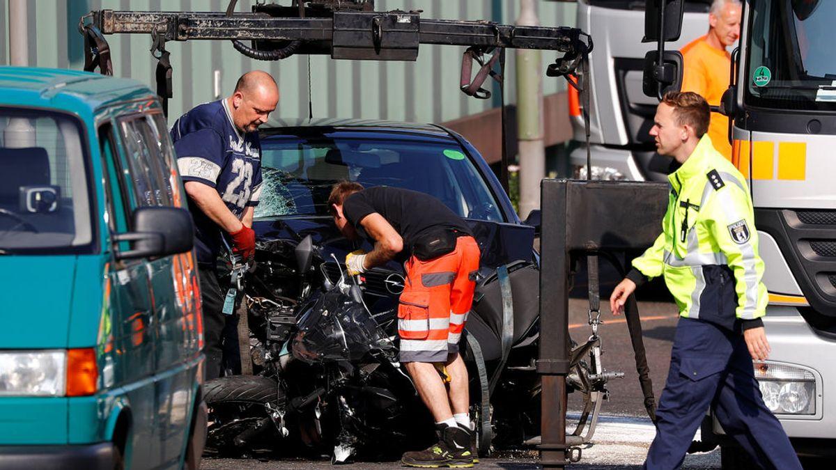"""La policía alemana investiga como """"ataque islamista"""" los accidentes provocados en la autopista de Berlín"""