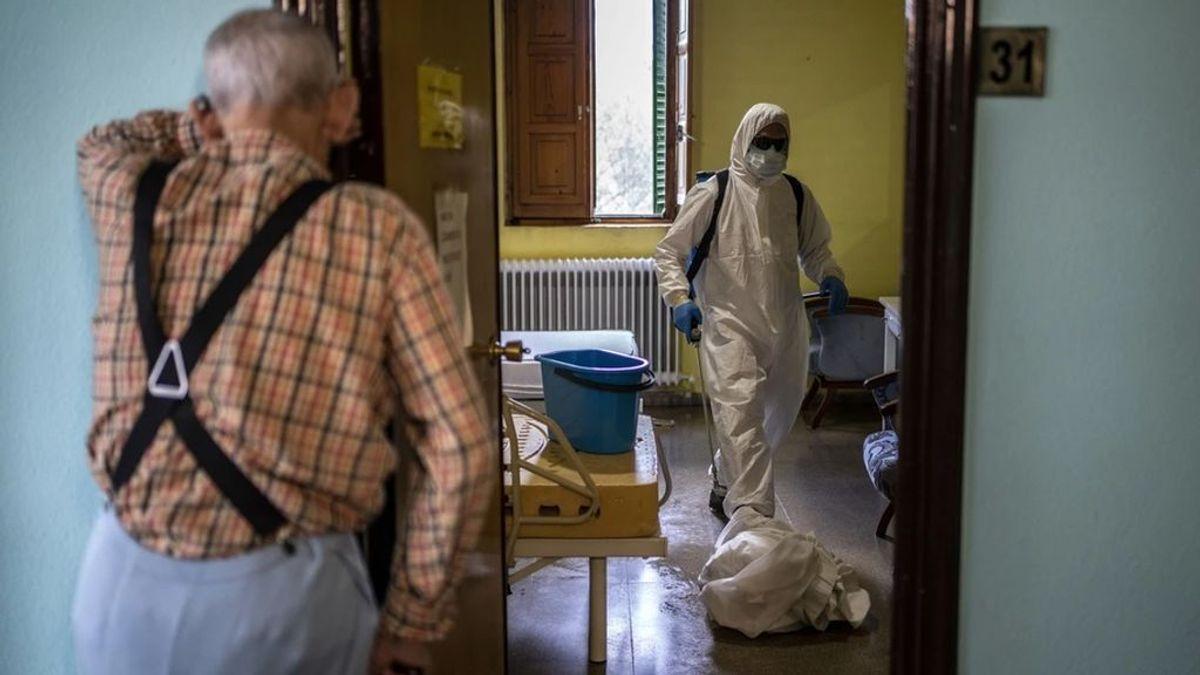 Las residencias de Madrid alcanzan el nivel máximo de riesgo de contagio