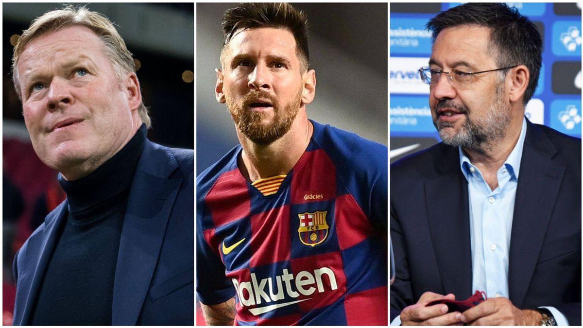 Koeman, Messi y Bartomeu se reunirán el fin de semana.