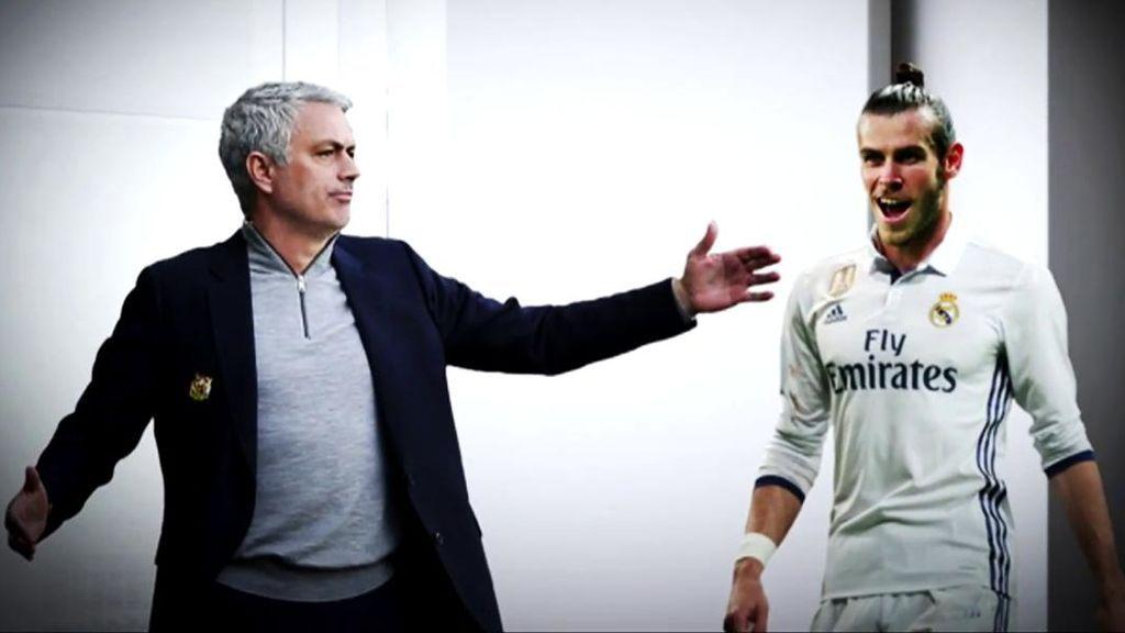 José Mourinho y Gareth Bale coincidieron en el Real Madrid.