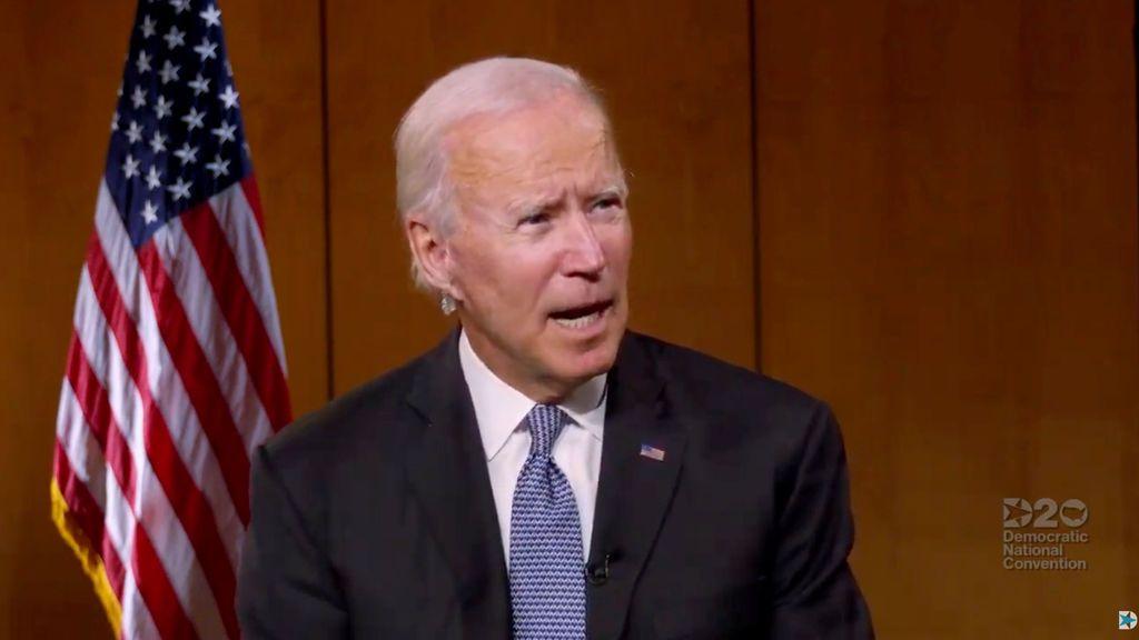 Joe Biden es nominado oficialmente como candidato demócrata a la Casa Blanca