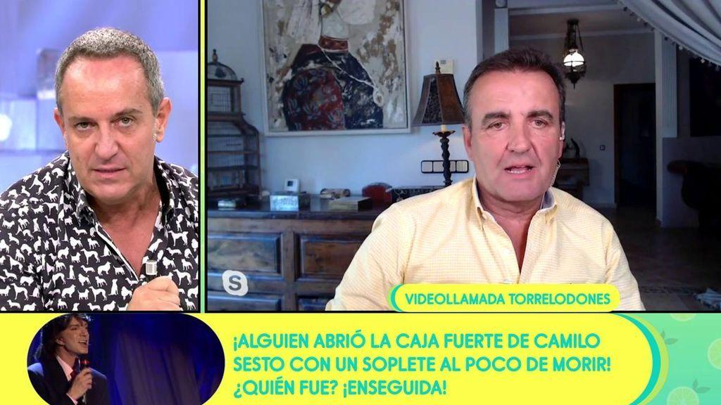 """Víctor Sandoval se enfrenta a Antonio Montero: """"Me has decepcionado, lo que has hecho a Lydia Lozano es ruin y rastrero"""""""