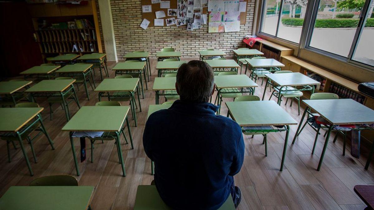 La alta tasa de contagio en España convierte en un riesgo la reapertura escolar