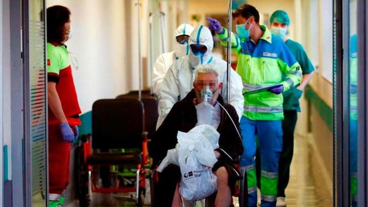 Los hospitalizados por Covid suben en Andalucía más del 19% en 48 horas
