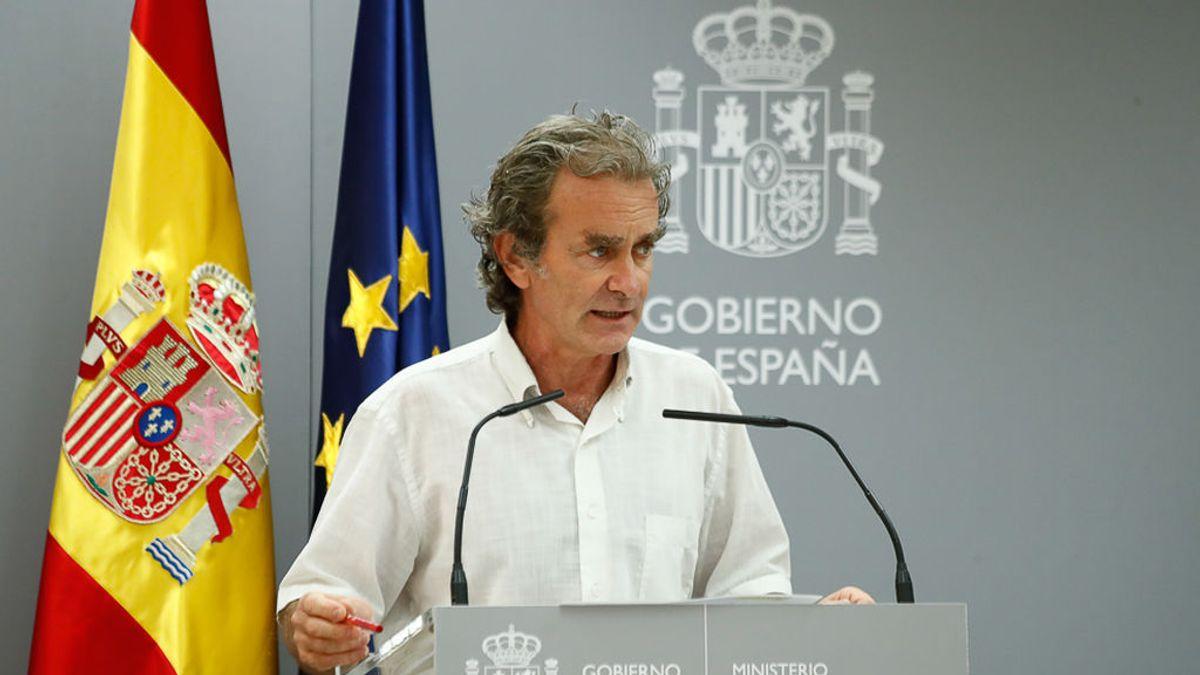 """Fernando Simón: """"Que nadie se confunda, las cosas no van bien"""""""