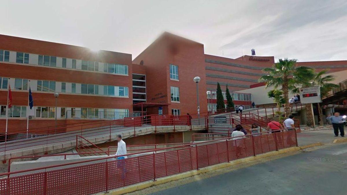 Hospital Virgen de la Arrixaca en Murcia.