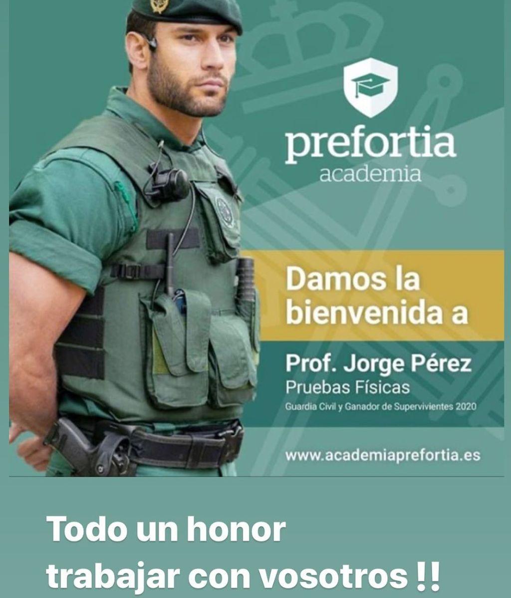 El nuevo trabajo de Jorge Pérez
