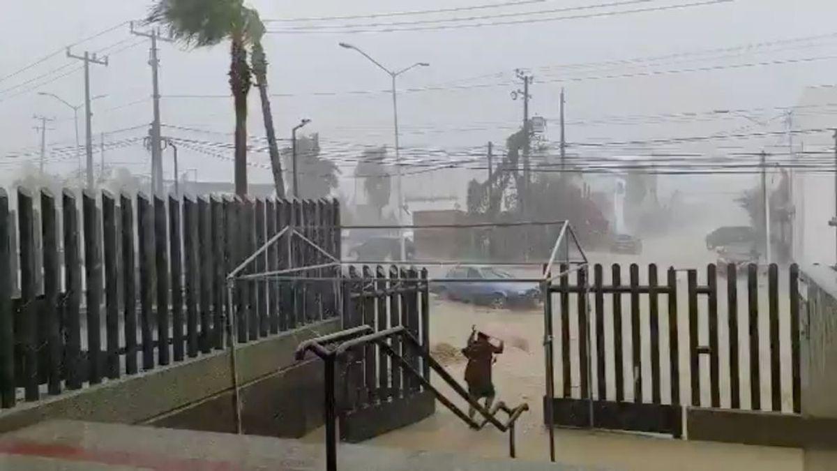 Dos huracanes entrarán a la vez en Estados Unidos a través del Golfo de México