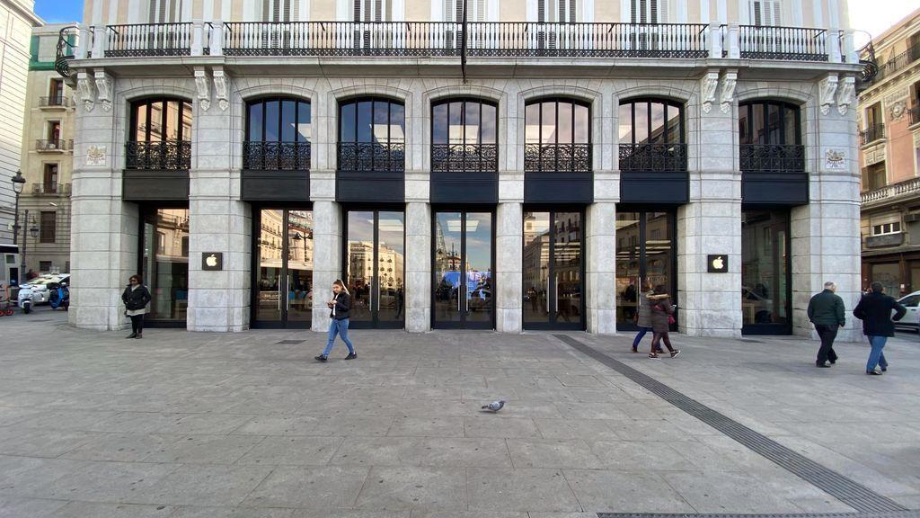 Apple cerrará desde el próximo lunes temporalmente sus cuatro tiendas de Madrid por la Covid-19