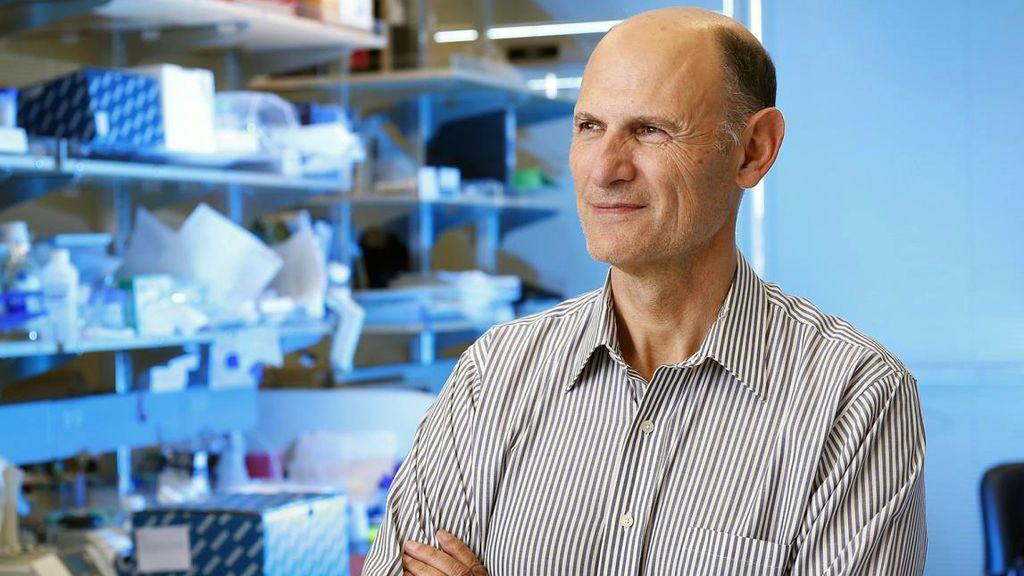 Juan Carlos Izpisúa en los laboratorios del Instituto Salk de California.