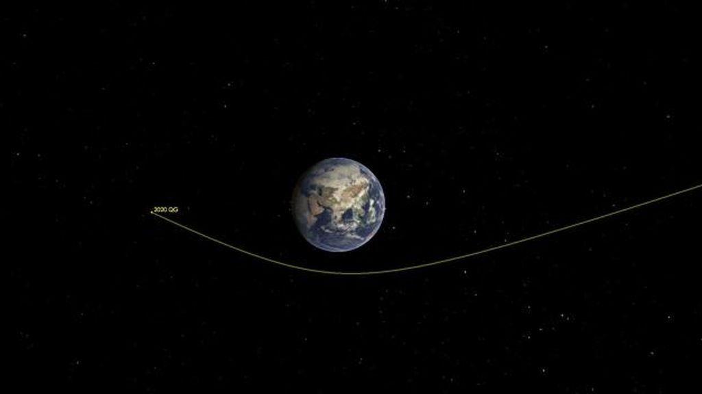 El asteroide que más cerca ha pasado de la Tierra nos sobrevoló en agosto y nadie lo detectó