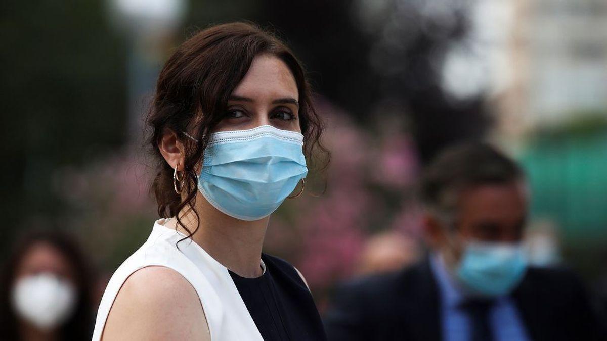 """Ayuso responsabiliza a Sánchez del rechazo de sus medidas: """"La dejación de funciones expande la pandemia"""""""