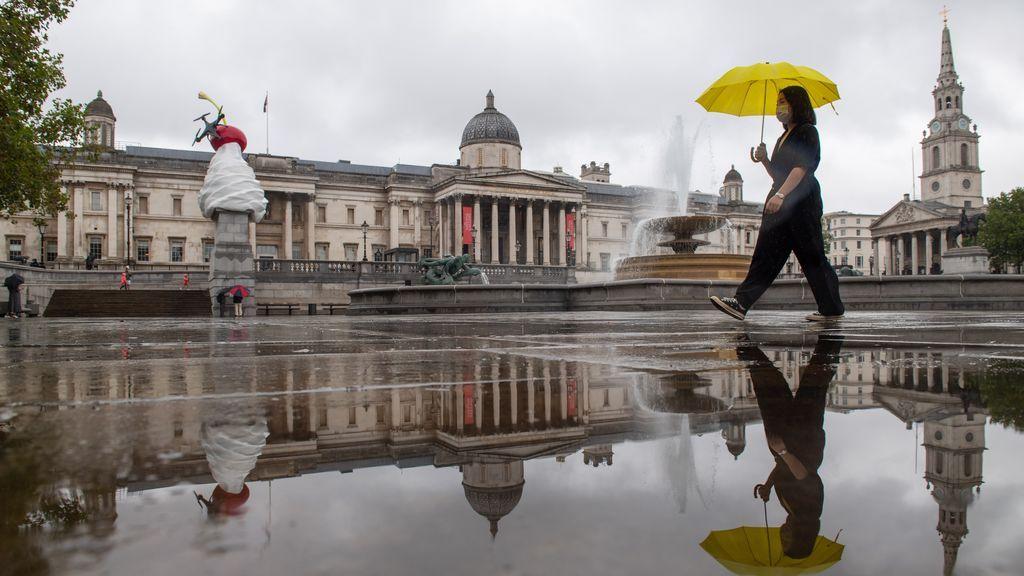 Los contagios diarios en el Reino Unido se elevan a 1.288