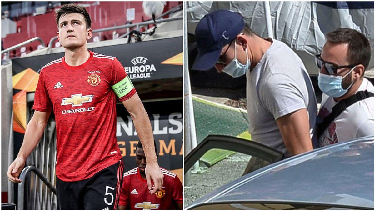 """Maguire, capitán del Manchester United, se enfrenta a la policía en Mykonos y es arrestado: """"Se necesitaron más de cinco oficiales para derribarlo"""""""