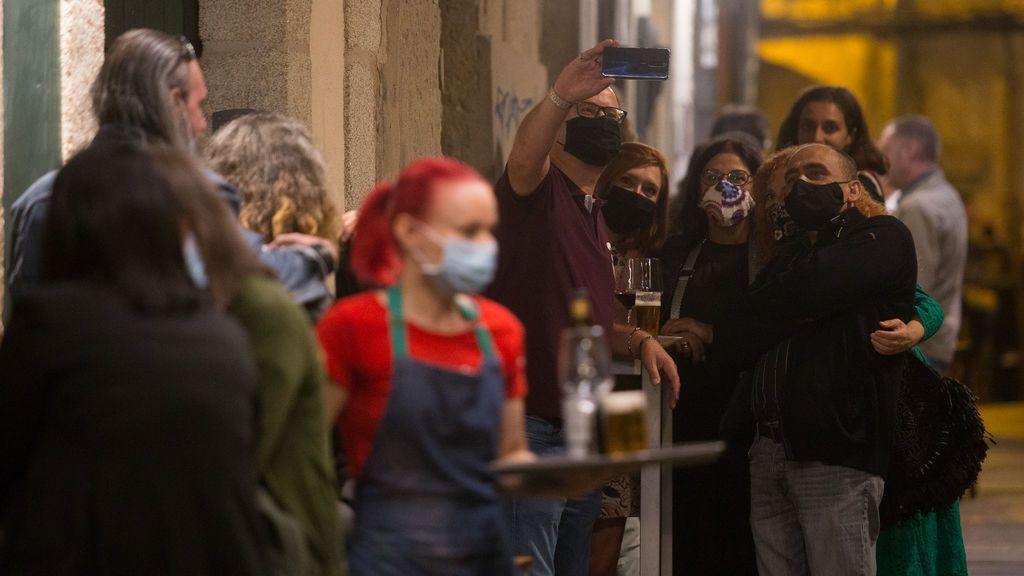 Galicia registra 2.306 casos activos tras sumar 158 en las últimas 24 horas