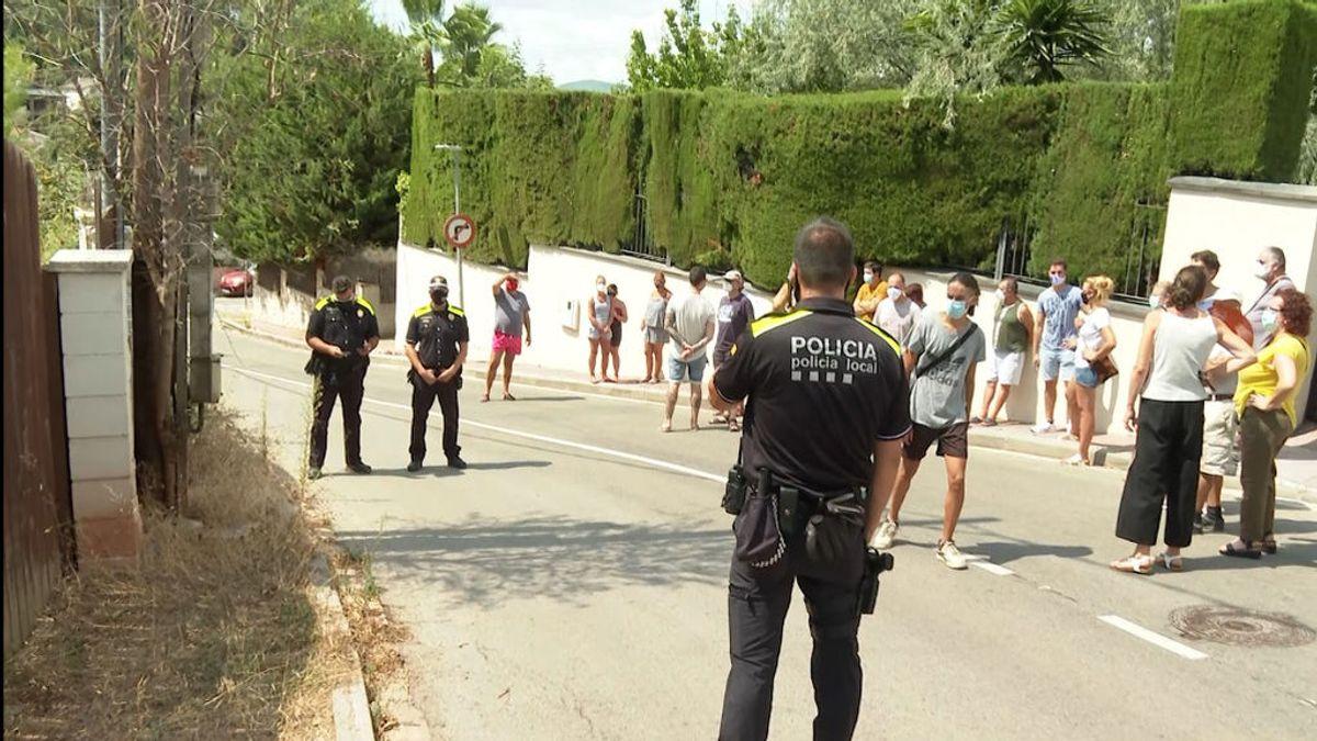 Los vecinos de Corberà de Llobregat (Barcelona) salen a la calle para frenar las okupaciones