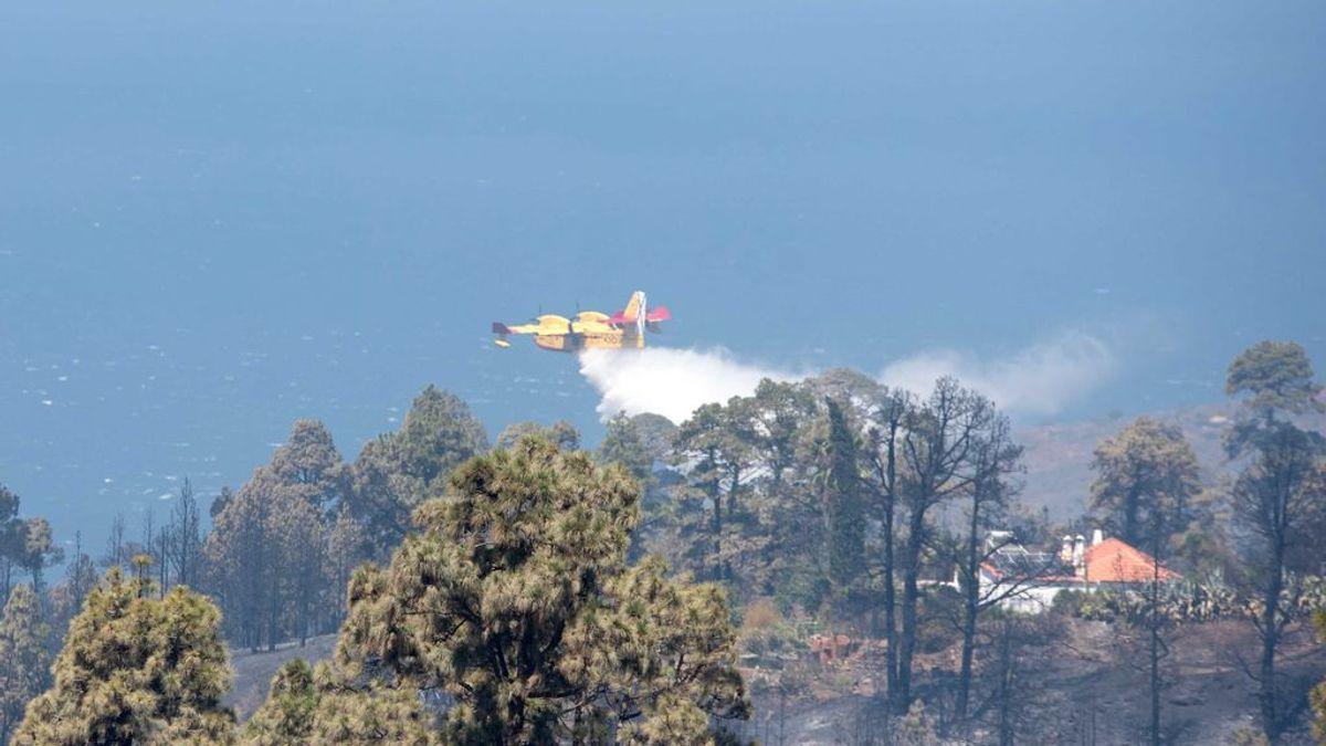 Dan por estabilizado el incendio de La Palma 48 horas después de su inicio