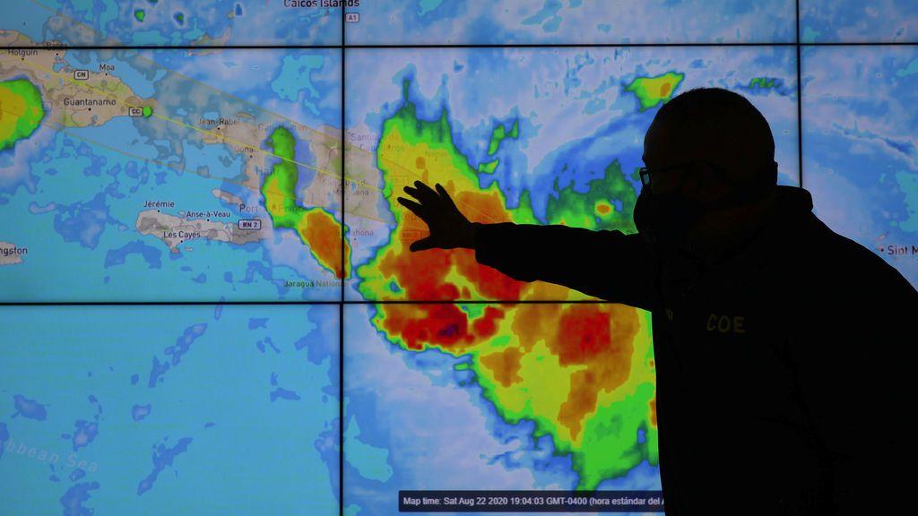 Estado de emergencia en Puerto Rico por el impacto de la tormenta tropical 'Laura'