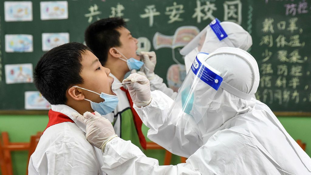 China reabre los colegios