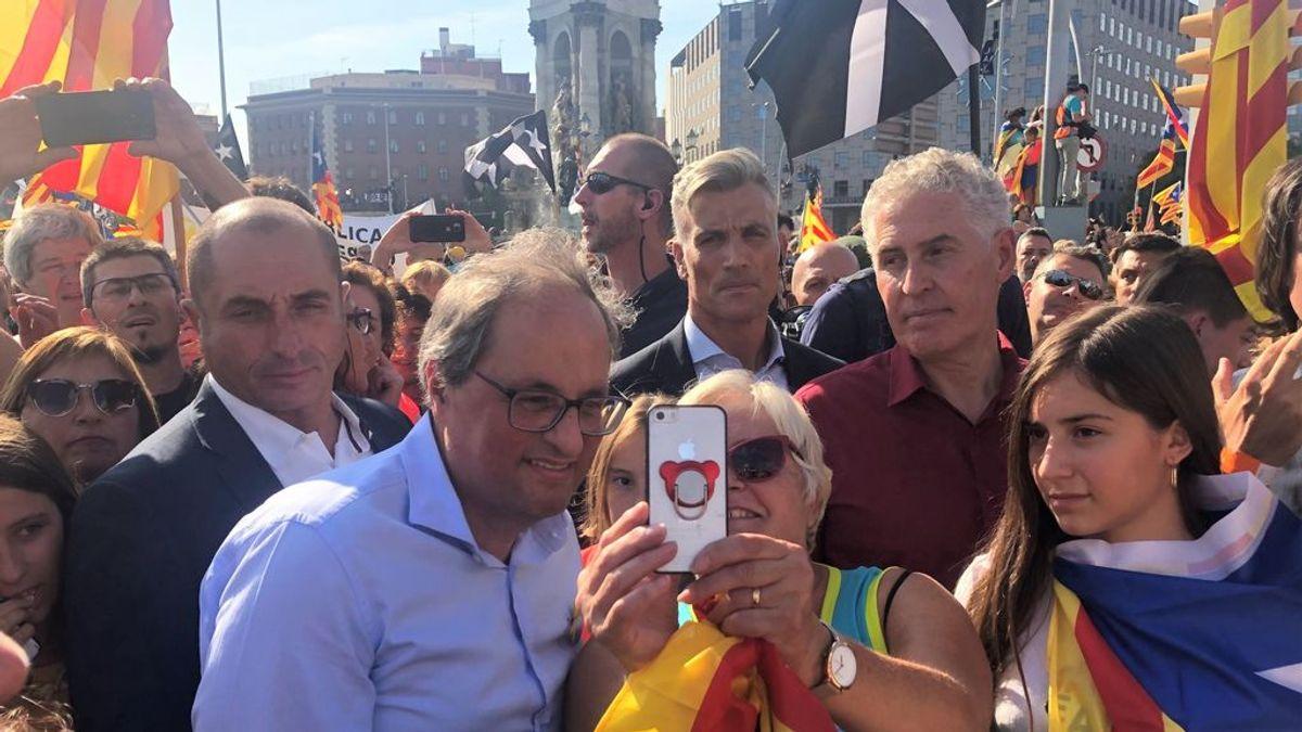 Torra prohibe las reuniones de mas de 10 personas pero no las manifestaciones