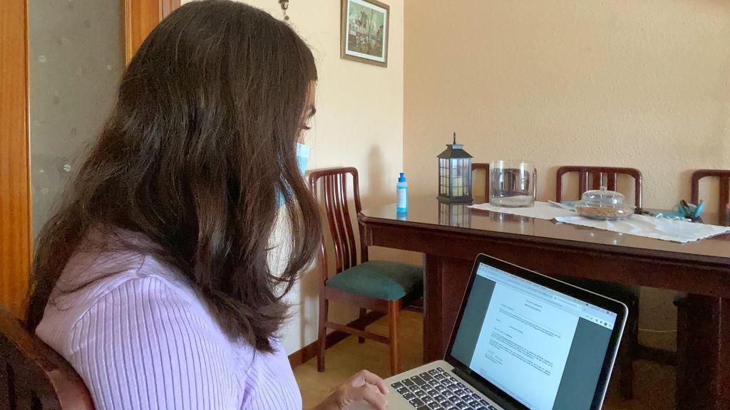 """María, positivo en COVID: """"Me tuve que convertir en rastreadora porque nadie llamaba a mis contactos"""""""