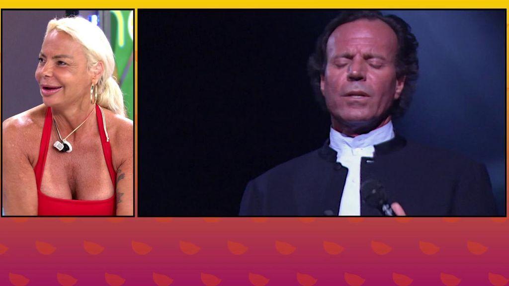 """Leticia Sabater compartió una velada con Julio Iglesias: """"Es un conquistador absoluto"""""""