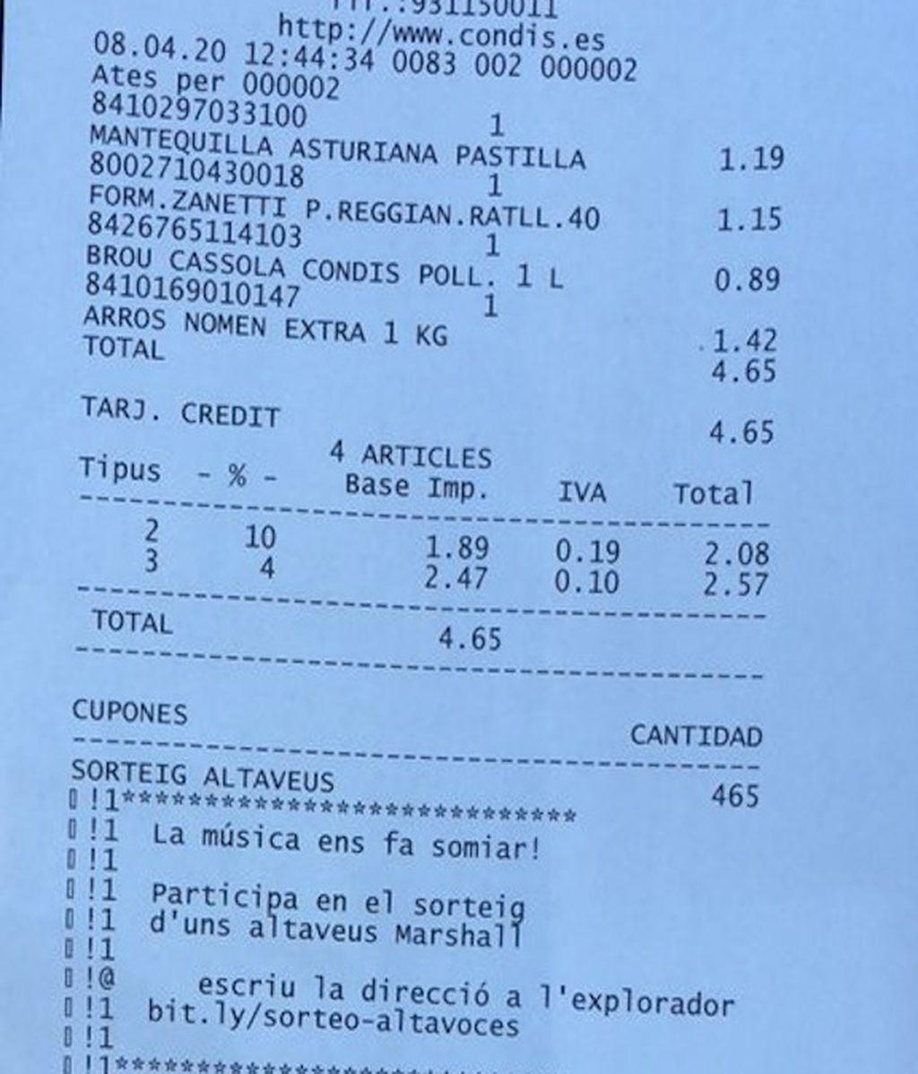 """Sancionan a una joven con 300 euros por comprar """"pocas cosas"""" durante el estado de alarma"""