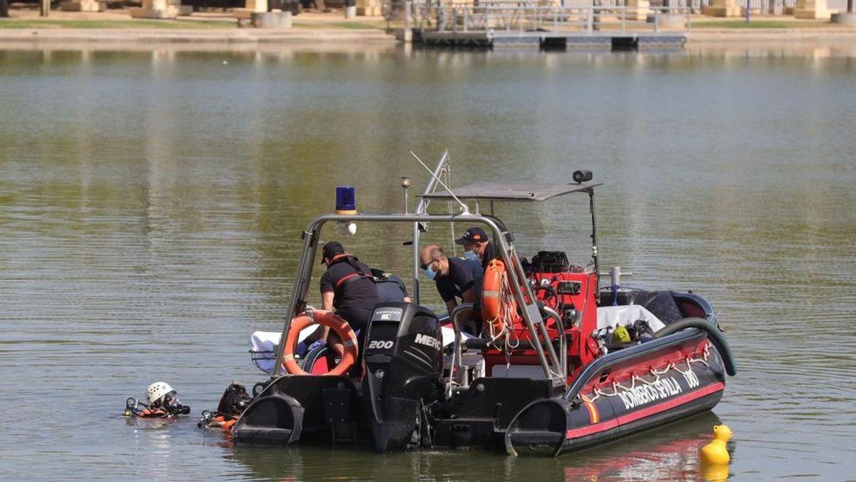 Hallan en Sevilla el cadáver del joven desaparecido en la dársena del Guadalquivir