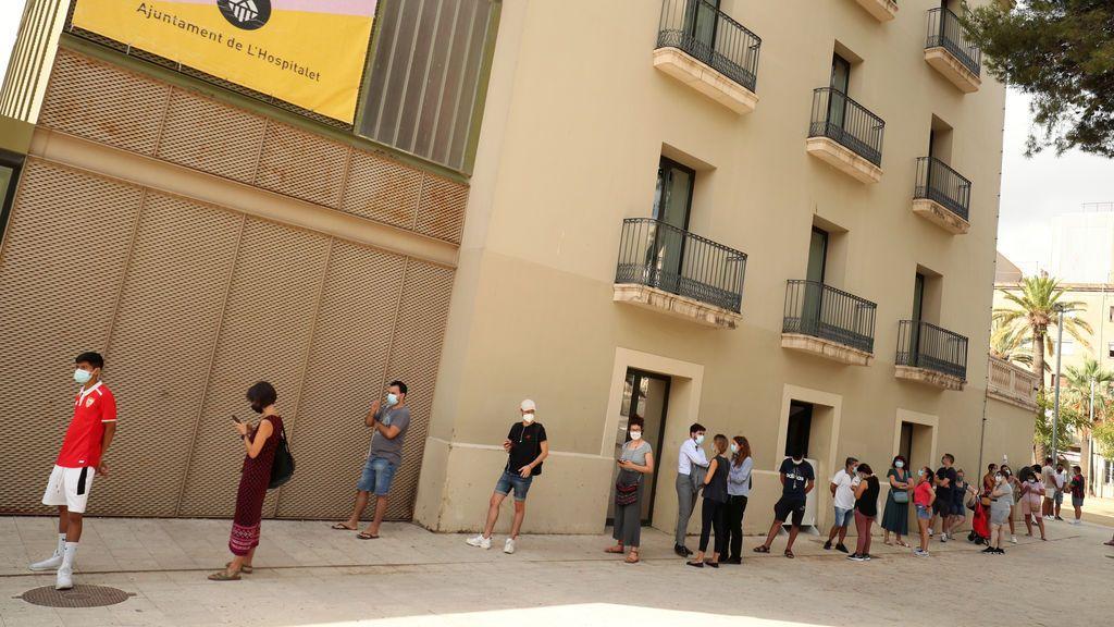 Cataluña  suma 1.788 nuevos casos de Covid-19 y aumenta el riesgo de rebrotes