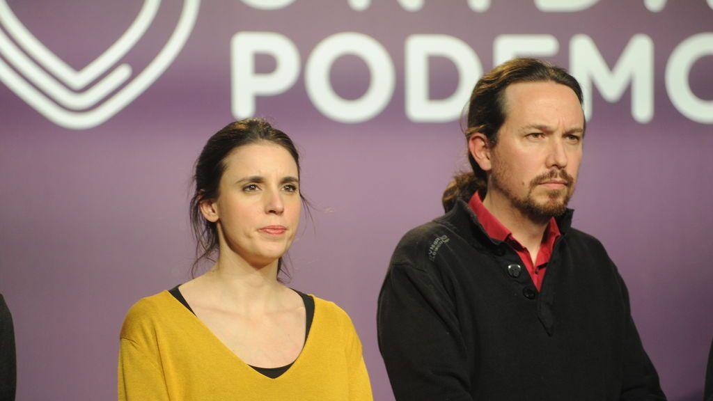 Iglesias y  Montero denuncian ante la Policía amenazas a su hijos