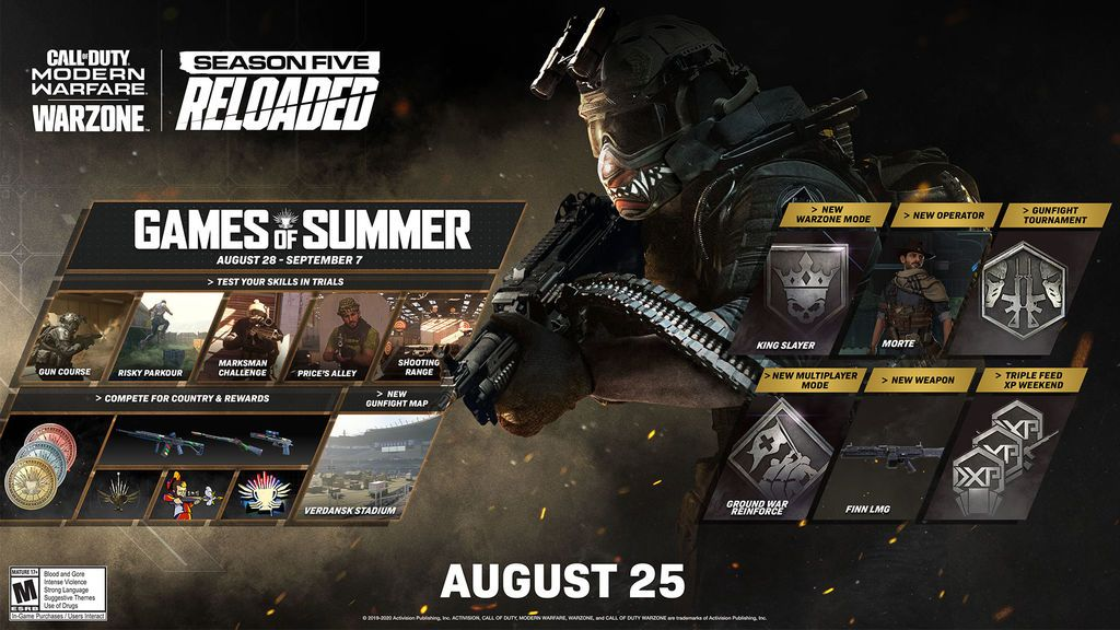 CoD Games of Summer