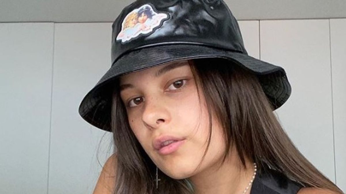 Manuela, la hija de Alejandro Sanz (acaba de abrir su instagram).