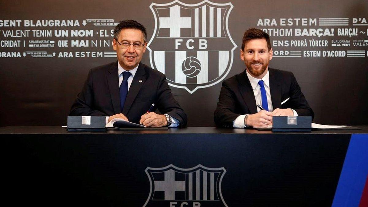Messi le comunica al Barça que quiere dejar el club acogiéndose a la cláusula que le permite salir cada año, según TyCSports