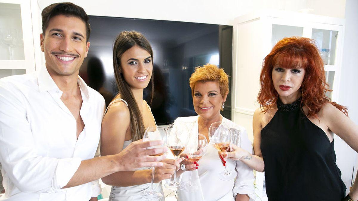 Terelu Campos, Gianmarco Onestini, Sofía Suescun y Yurena protagonizarán la decimocuarta edición de 'Ven a cenar conmigo: Gourmet Edition'